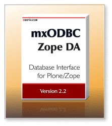 mxODBC Zope DA 2.2 - ODBC Database Interface for Plone/Zope